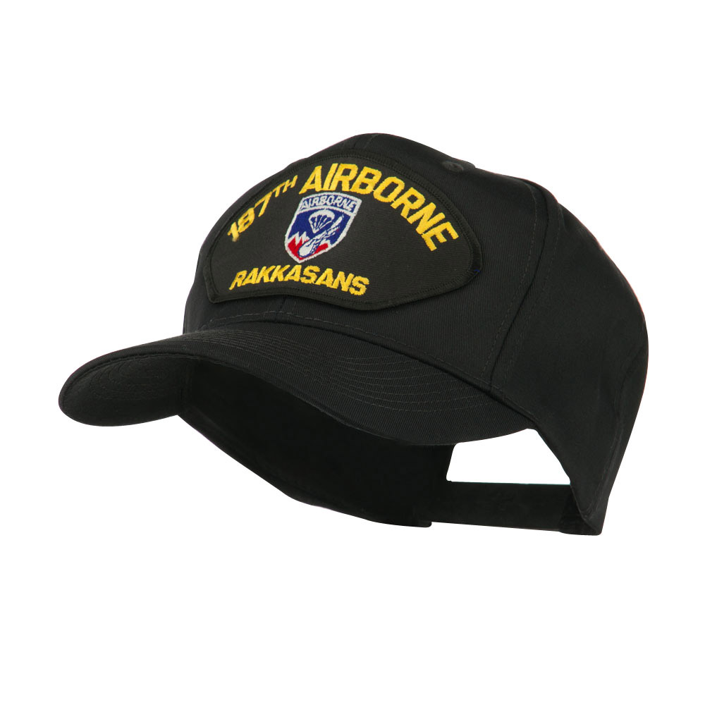 Air Bourne Military Large Patched Cap - 187th Air - Hats and Caps Online Shop - Hip Head Gear