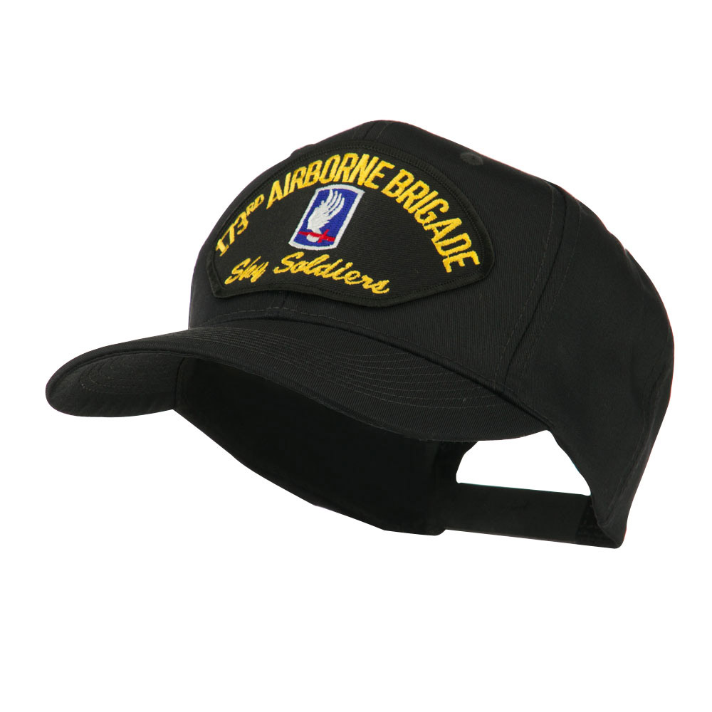 Air Bourne Military Large Patched Cap - 173rd Air - Hats and Caps Online Shop - Hip Head Gear