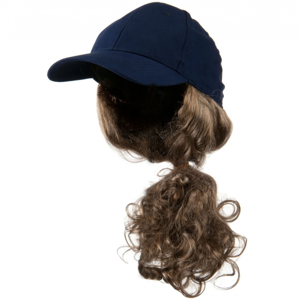Dark Blond Pony Tail Twill Cap - Navy - Hats and Caps Online Shop - Hip Head Gear