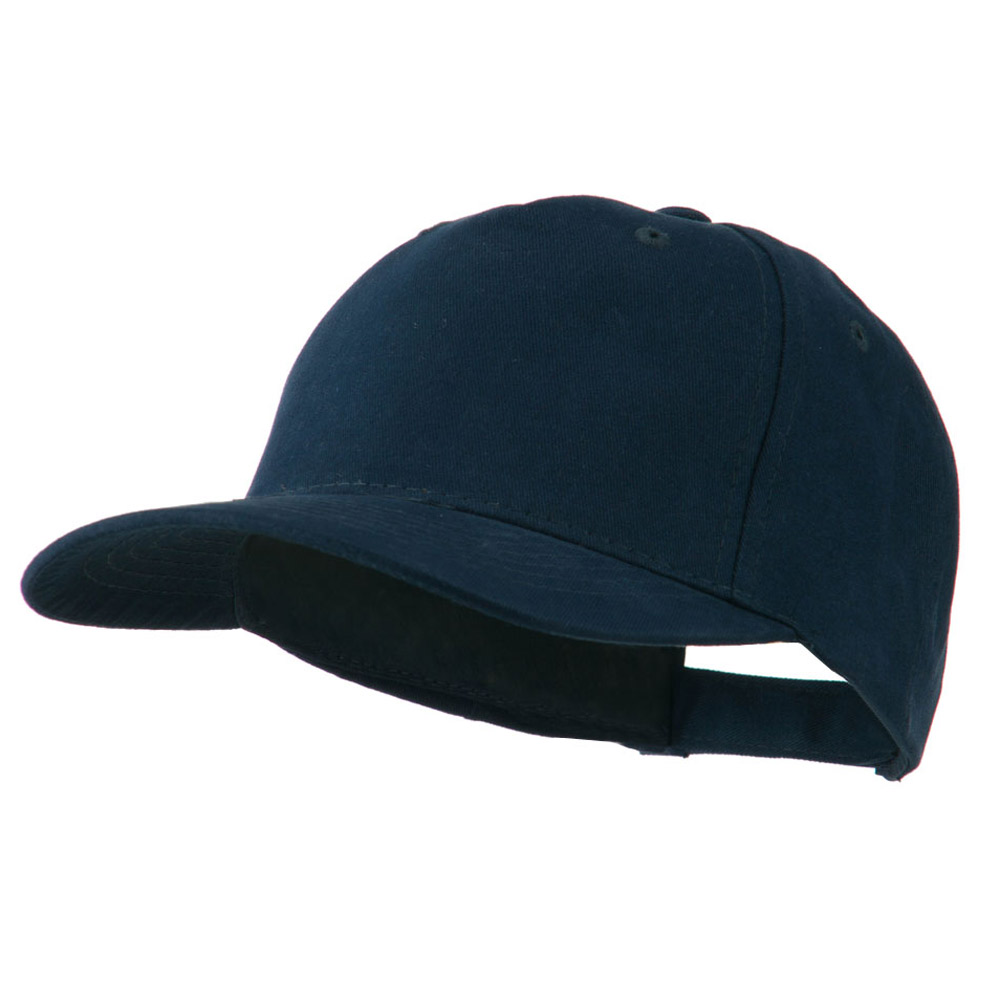 5 Panel Brushed Cotton Twill Constructed Cap - Navy - Hats and Caps Online Shop - Hip Head Gear