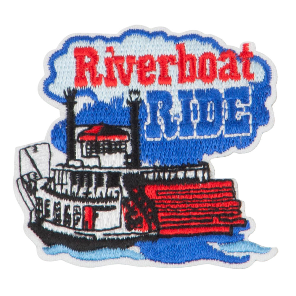 Boat Ride Patches - Navy
