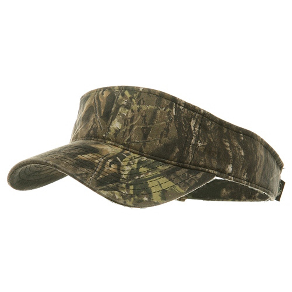 Garment Washed Camo Visor-Mossy Oak New Break Up - Hats and Caps Online Shop - Hip Head Gear
