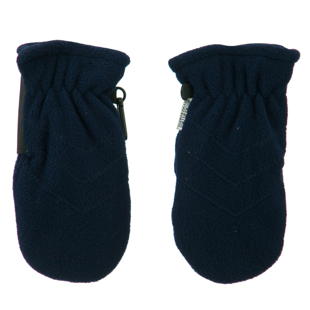 Boy's Snow Fleece Mitten - Navy