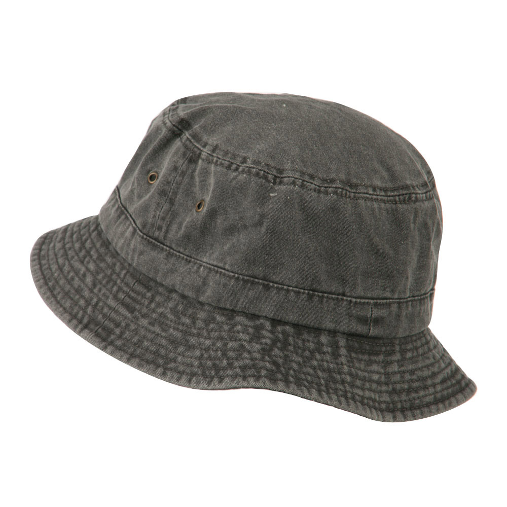 Big Size Washed Hat - Black - Hats and Caps Online Shop - Hip Head Gear