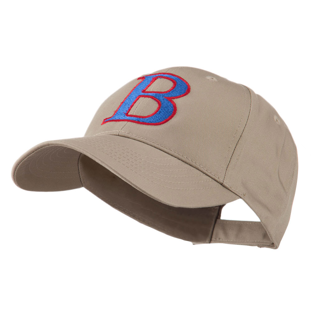 Greek Alphabet Beta Embroidered Cap - Khaki - Hats and Caps Online Shop - Hip Head Gear