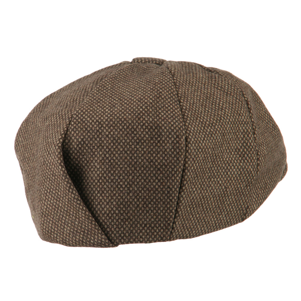 Big Wool Blend Newsboy Cap-Brown - Hats and Caps Online Shop - Hip Head Gear