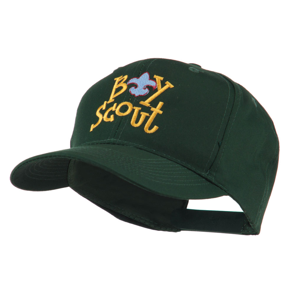 Boy Scout Logo Embroidered Cap - Green - Hats and Caps Online Shop - Hip Head Gear