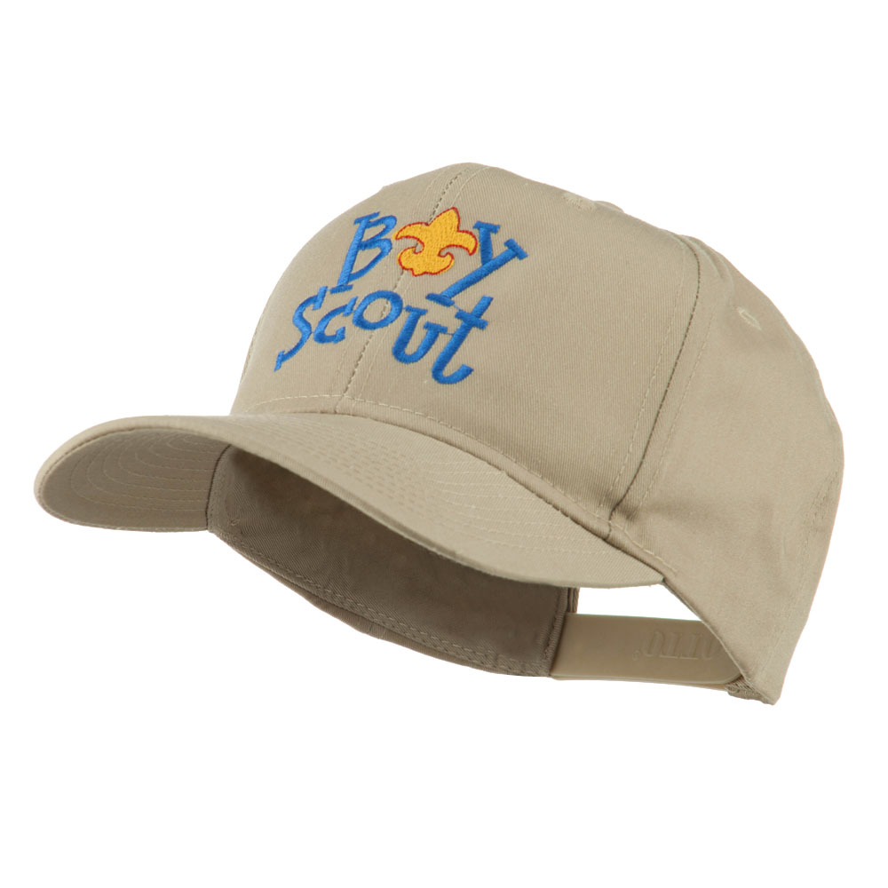 Boy Scout Logo Embroidered Cap - Khaki - Hats and Caps Online Shop - Hip Head Gear