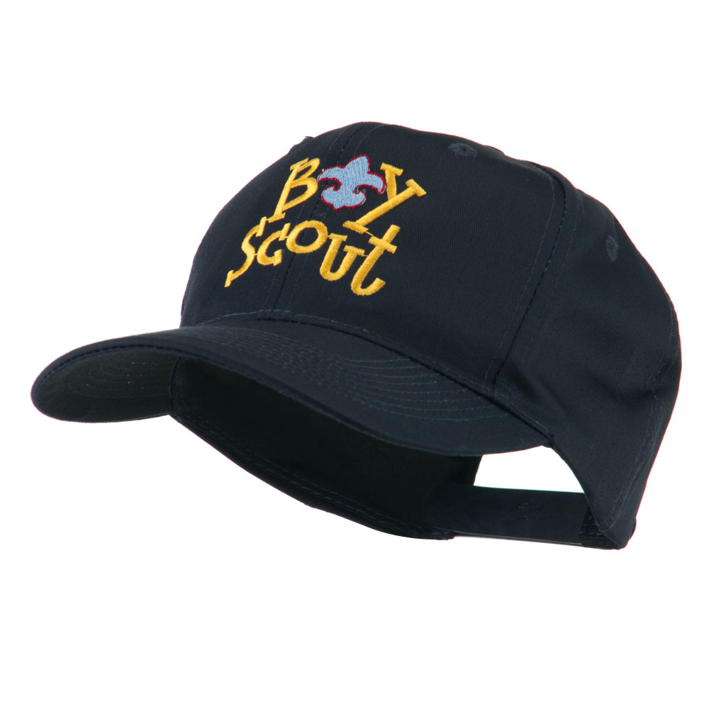 Boy Scout Logo Embroidered Cap - Navy - Hats and Caps Online Shop - Hip Head Gear