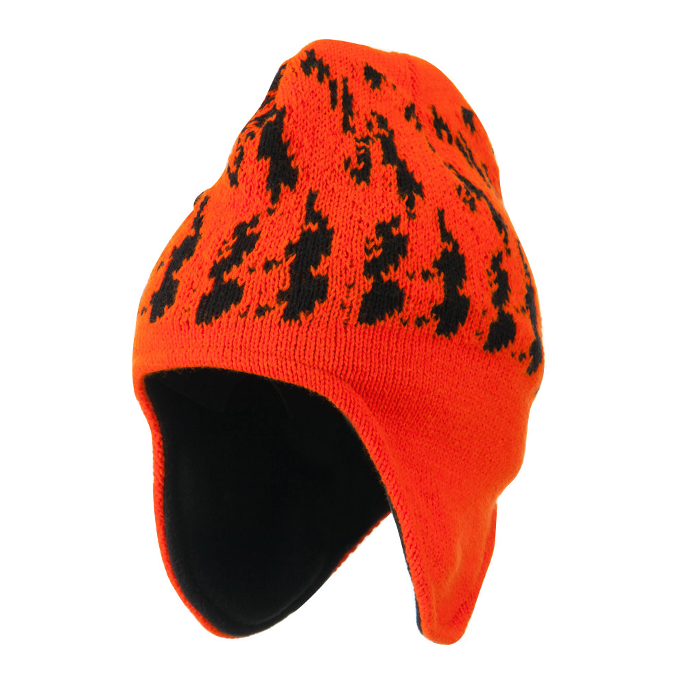 Blaze Ear Cover Beanie - Blaze Camo - Hats and Caps Online Shop - Hip Head Gear