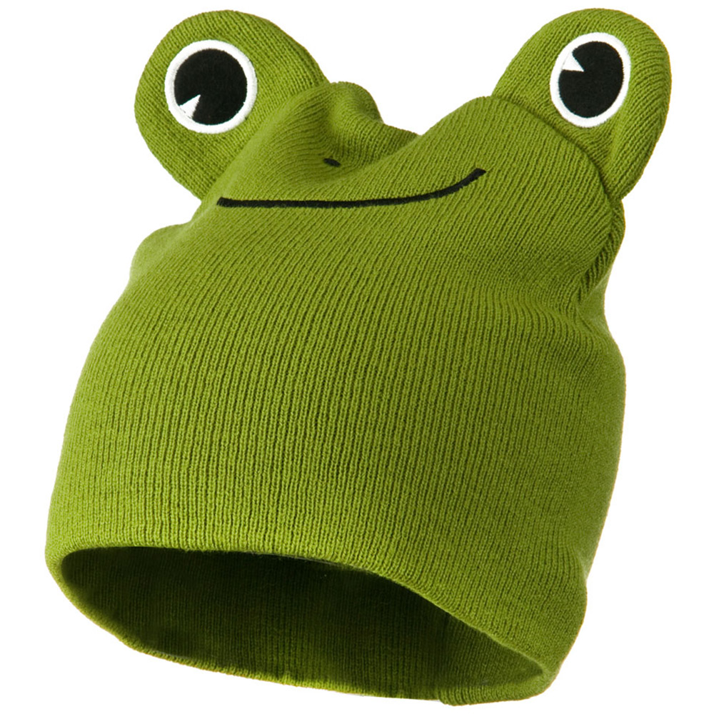 Cute Animal Beanie - Frog - Hats and Caps Online Shop - Hip Head Gear
