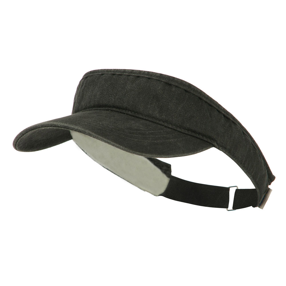 Cotton Breeze Visor - Black - Hats and Caps Online Shop - Hip Head Gear