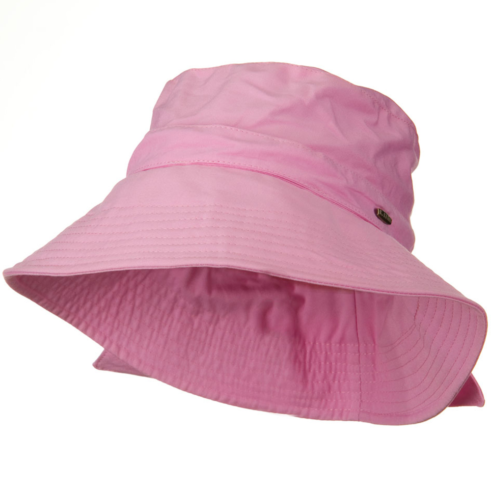 UPF 50+ Cotton 3 1/2 Inch Bow Brim Hat - Pink - Hats and Caps Online Shop - Hip Head Gear