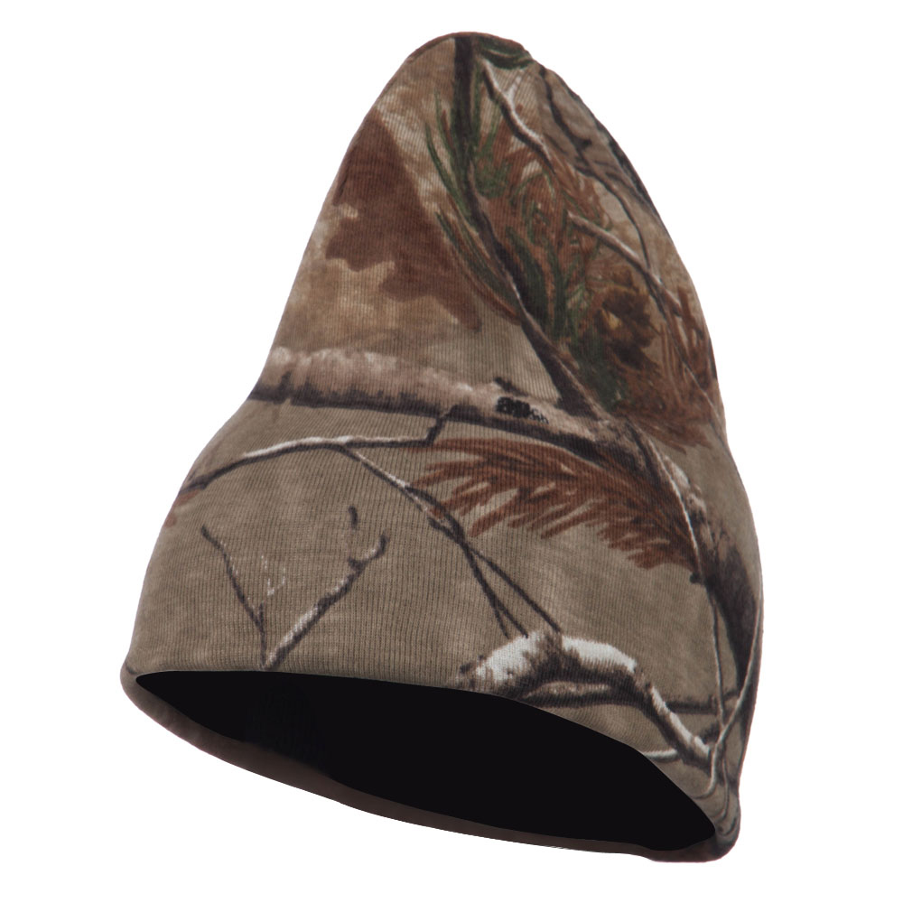 Reversible Camo Knit Beanie - Real Tree AP - Hats and Caps Online Shop - Hip Head Gear