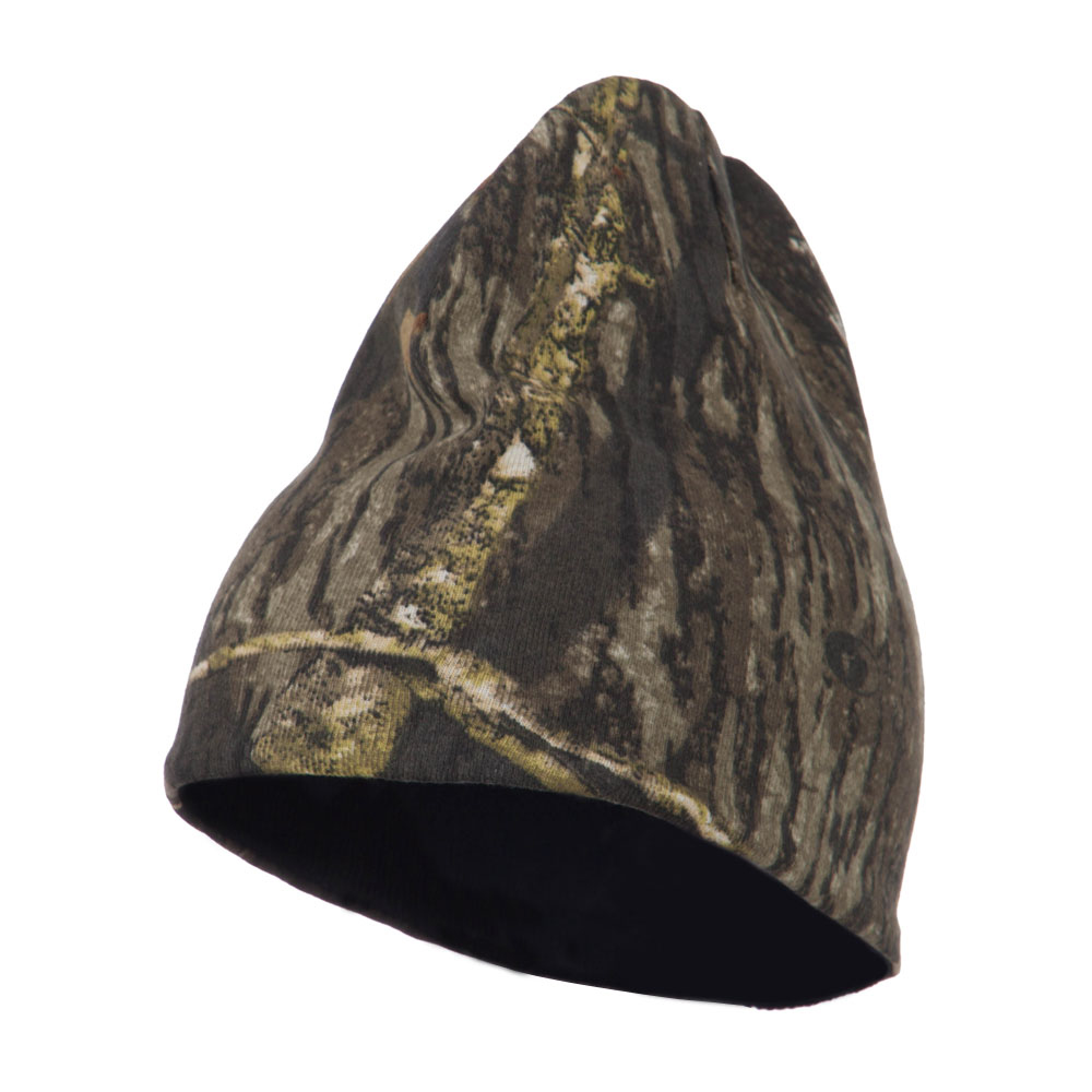 Reversible Camo Knit Beanie - Real Tree Xtra Black - Hats and Caps Online Shop - Hip Head Gear
