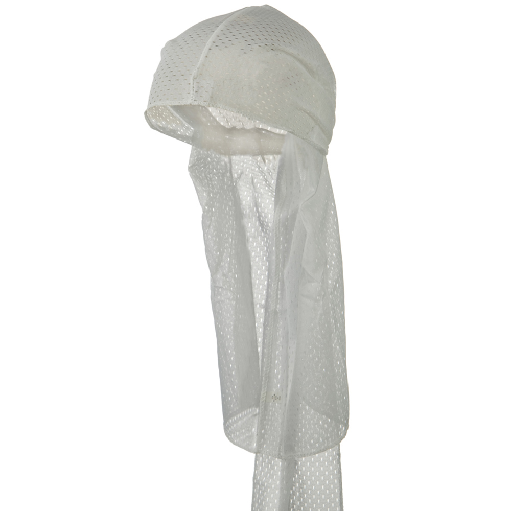 Mesh Cool Durag - White - Hats and Caps Online Shop - Hip Head Gear