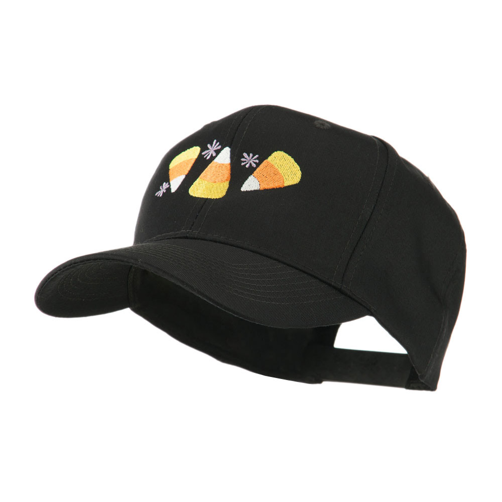 Halloween Candies Embroidered Cap - Black - Hats and Caps Online Shop - Hip Head Gear