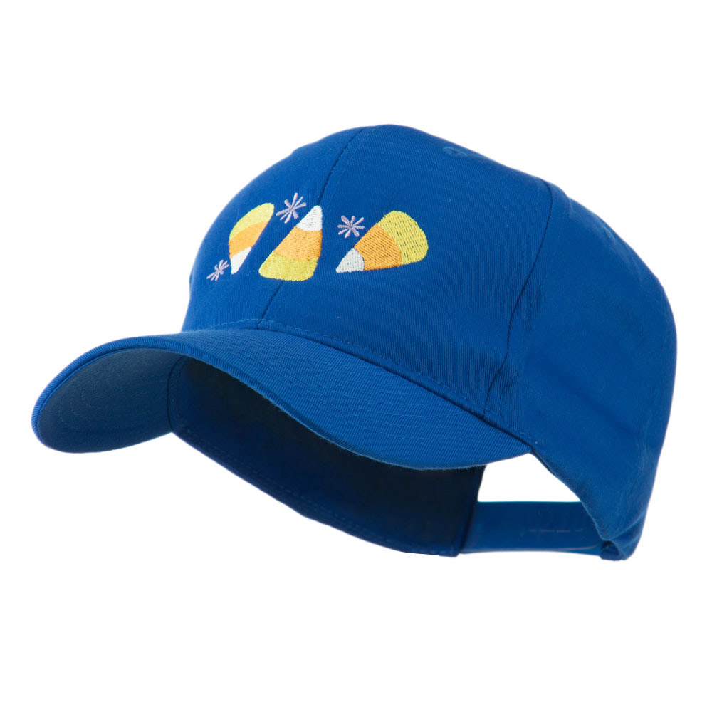 Halloween Candies Embroidered Cap - Royal - Hats and Caps Online Shop - Hip Head Gear
