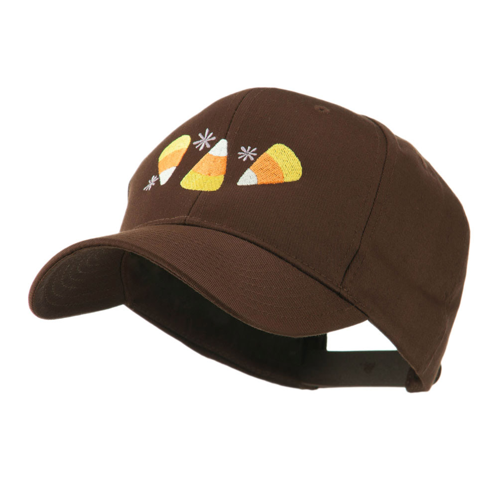 Halloween Candies Embroidered Cap - Brown - Hats and Caps Online Shop - Hip Head Gear