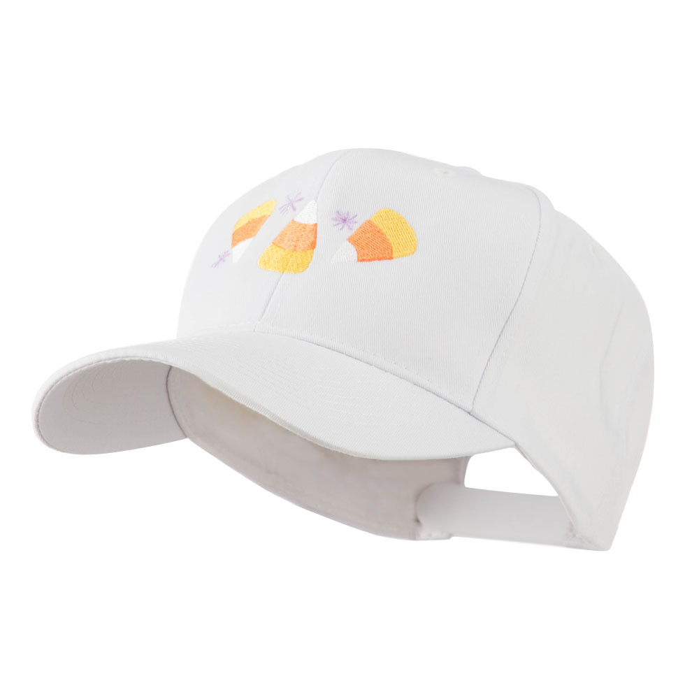 Halloween Candies Embroidered Cap - White - Hats and Caps Online Shop - Hip Head Gear