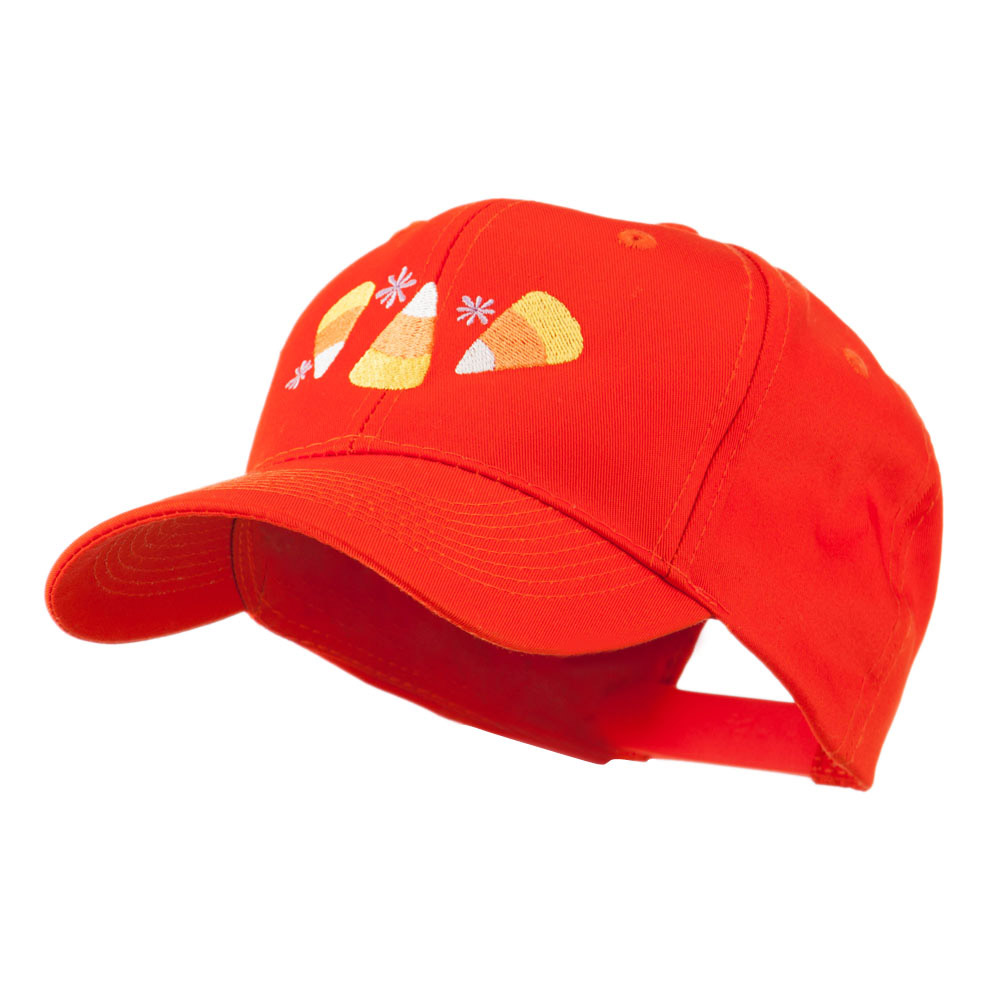 Halloween Candies Embroidered Cap - Orange - Hats and Caps Online Shop - Hip Head Gear