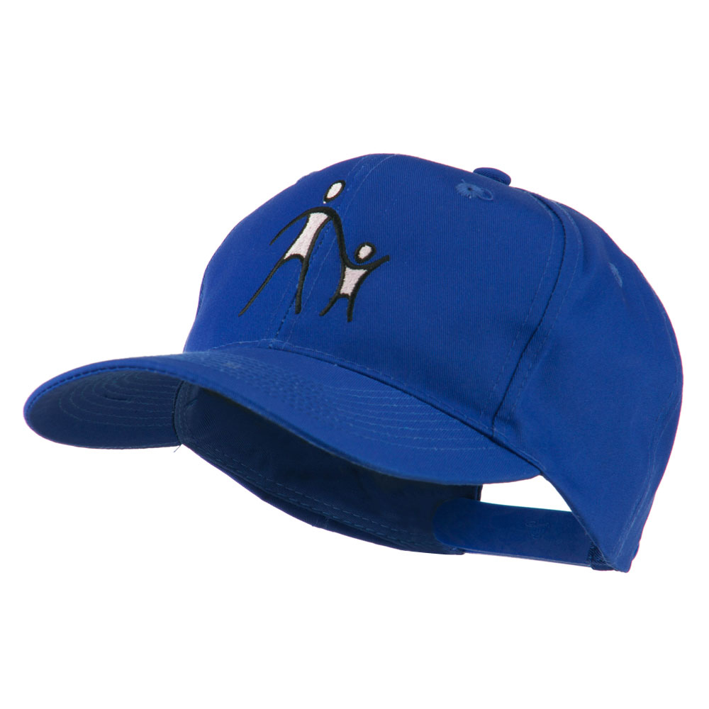 Cancer Hope Logo Embroidered Cap - Royal - Hats and Caps Online Shop - Hip Head Gear