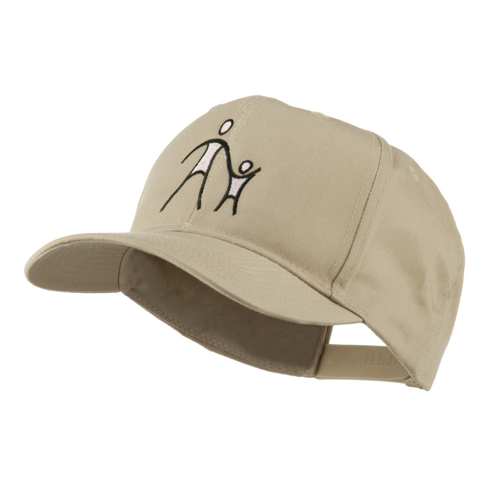 Cancer Hope Logo Embroidered Cap - Khaki - Hats and Caps Online Shop - Hip Head Gear