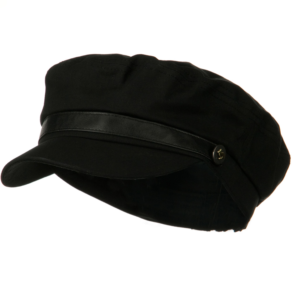 Lovie Fitted Cadet Hat - Black - Hats and Caps Online Shop - Hip Head Gear