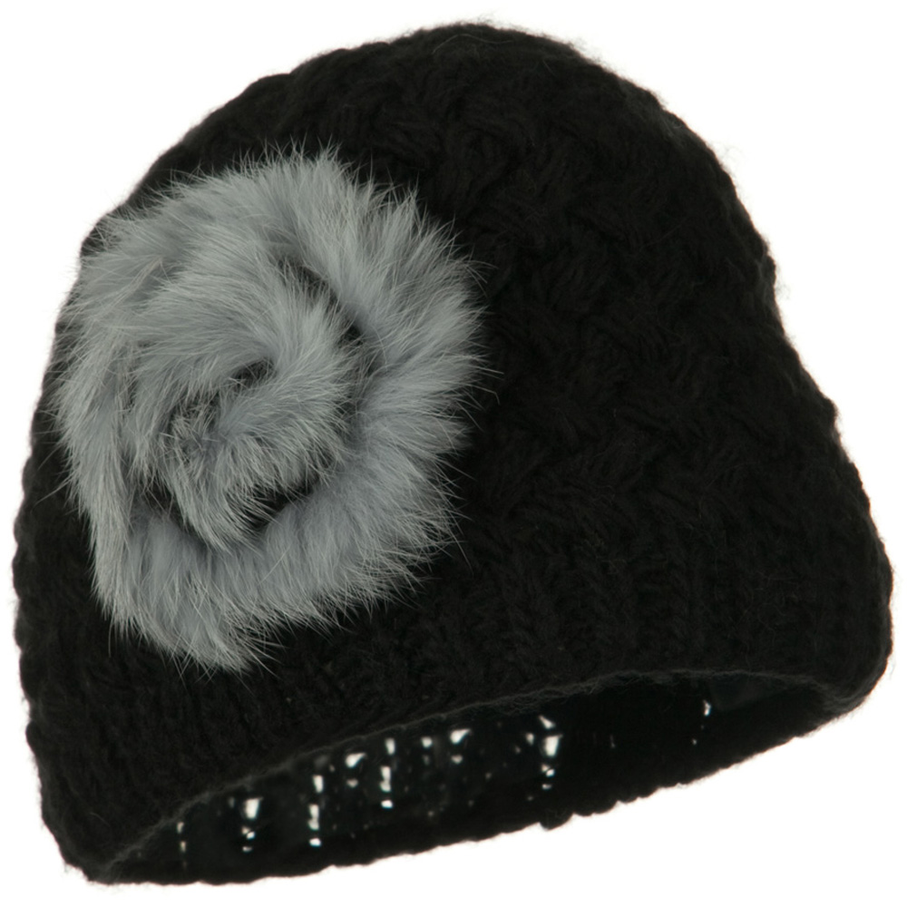 Casandra Ladies Fashion Knit Hat - Black - Hats and Caps Online Shop - Hip Head Gear