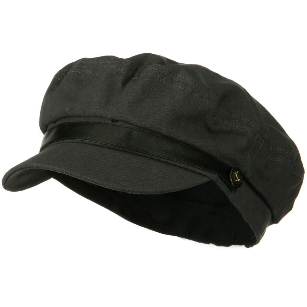 Lovie Fitted Cadet Hat - Grey - Hats and Caps Online Shop - Hip Head Gear