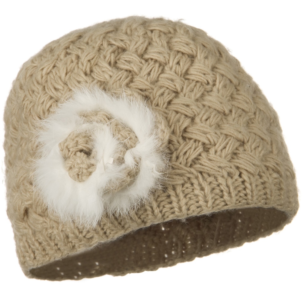 Casandra Ladies Fashion Knit Hat - Khaki - Hats and Caps Online Shop - Hip Head Gear
