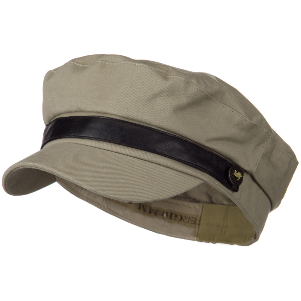 Lovie Fitted Cadet Hat - Tan - Hats and Caps Online Shop - Hip Head Gear