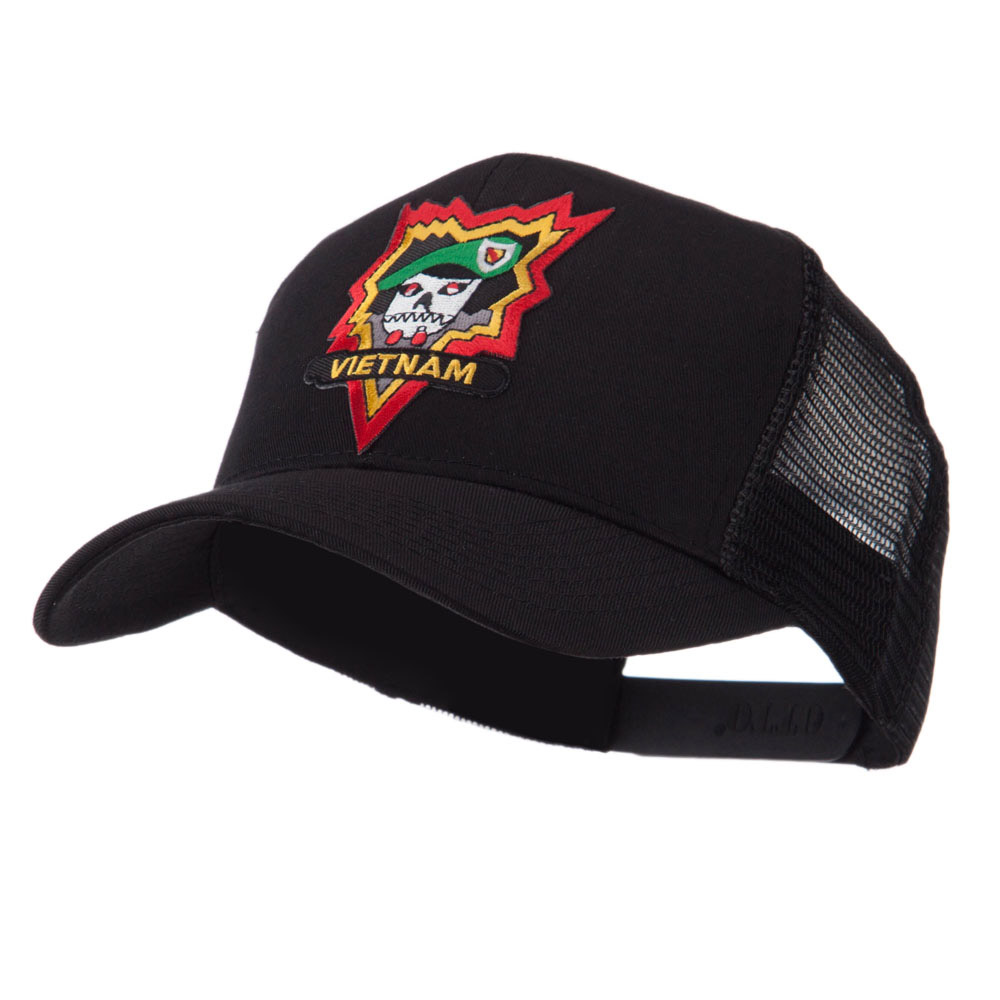 Combined Forces Military Patched Mesh Cap - Vietnam - Hats and Caps Online Shop - Hip Head Gear
