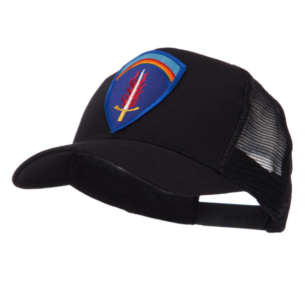 Combined Forces Military Patched Mesh Cap - Shaef - Hats and Caps Online Shop - Hip Head Gear
