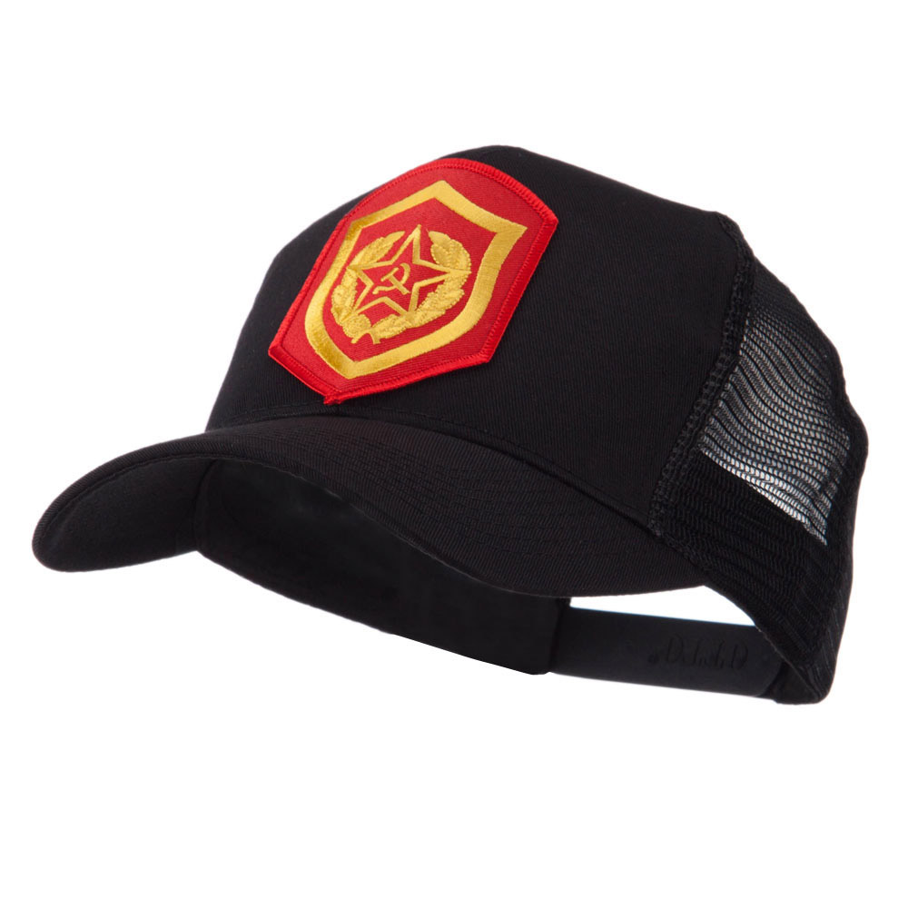 Combined Forces Military Patched Mesh Cap - Tanker - Hats and Caps Online Shop - Hip Head Gear