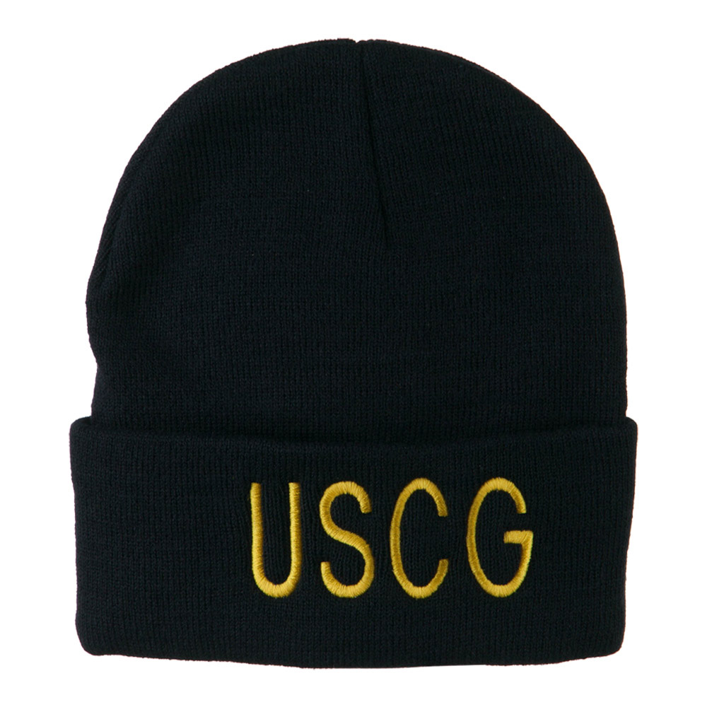 Coast Guard Embroidered Military Beanie - USCG - Hats and Caps Online Shop - Hip Head Gear
