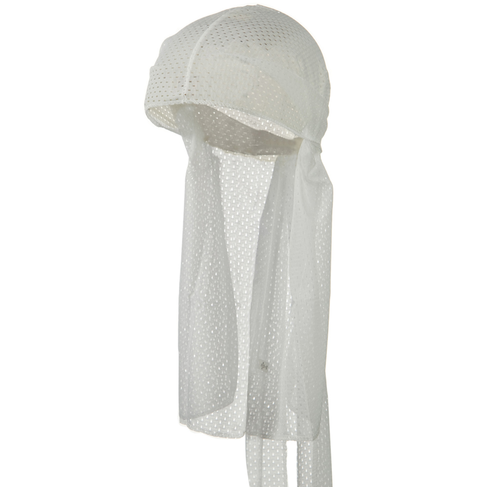 Cool Mesh Durag - White - Hats and Caps Online Shop - Hip Head Gear