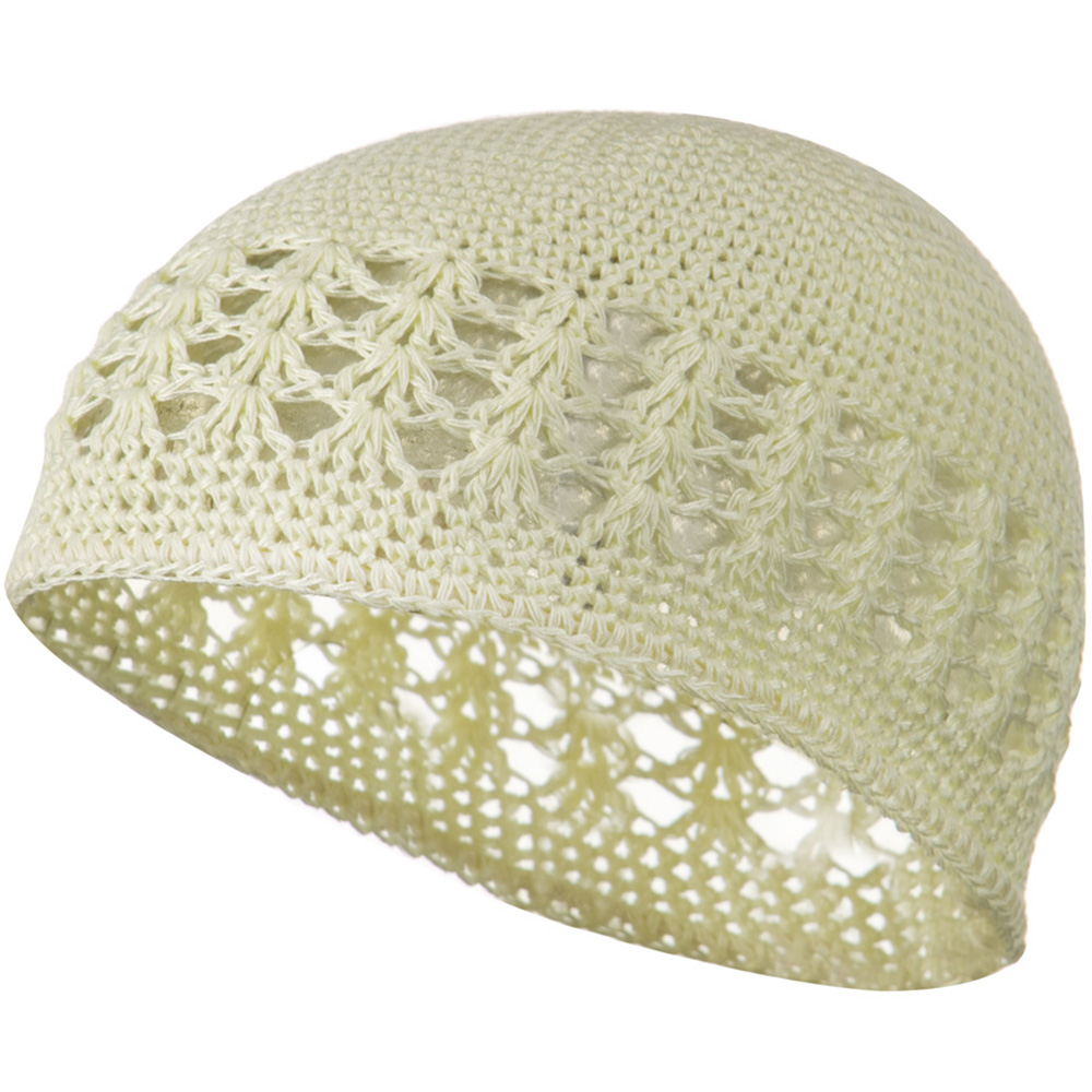 Cotton Kufi Cap - Cream - Hats and Caps Online Shop - Hip Head Gear