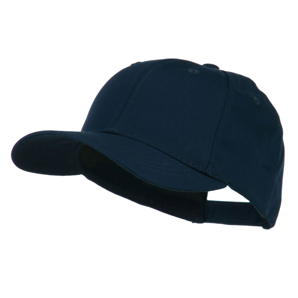6 Panel Constructed Twill Cap - Navy - Hats and Caps Online Shop - Hip Head Gear