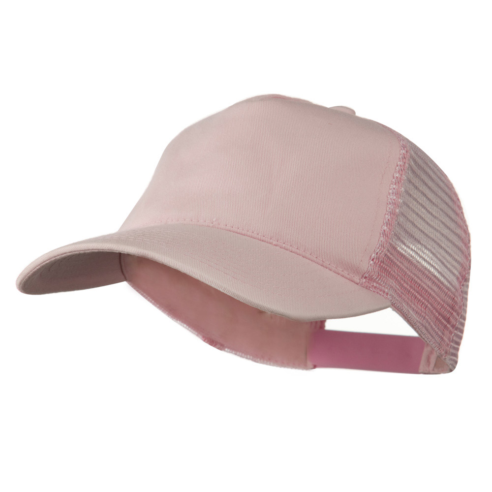 Distress Washed Tiw Mesh Cap - Pink - Hats and Caps Online Shop - Hip Head Gear