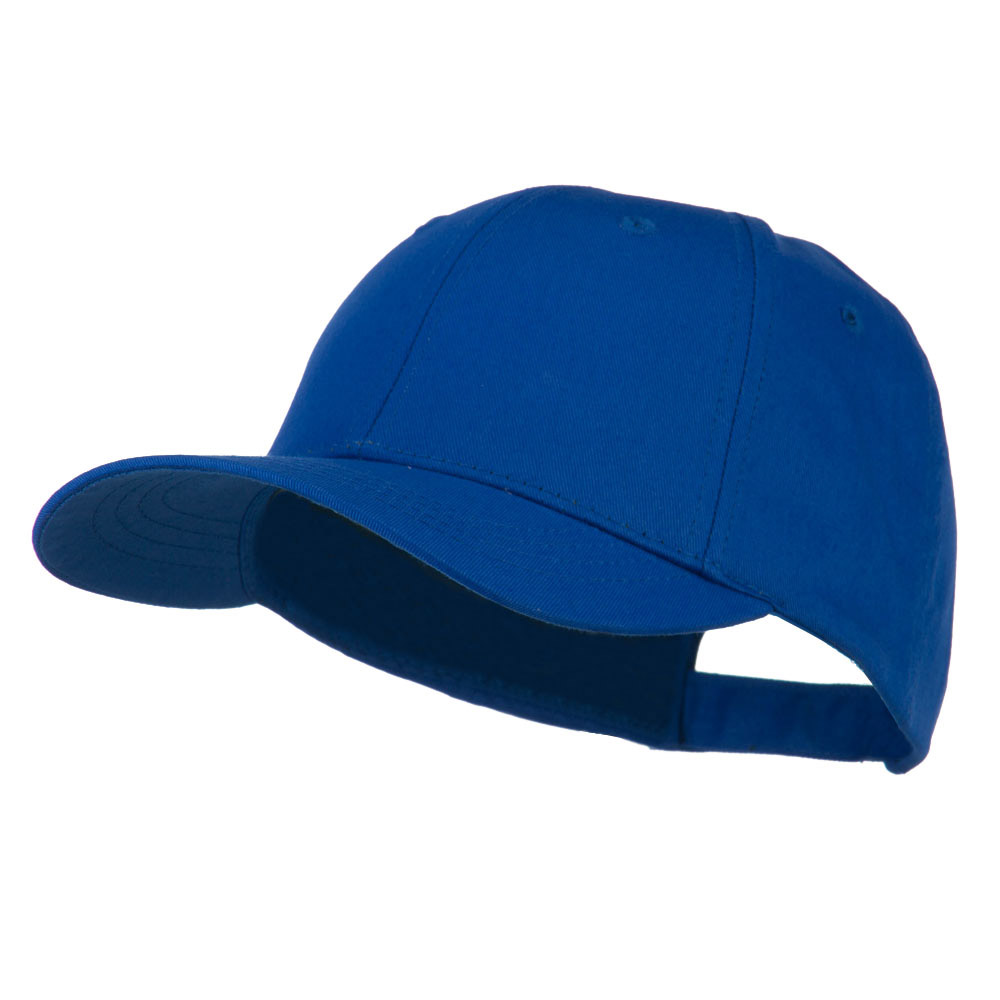 6 Panel Constructed Twill Cap - Royal - Hats and Caps Online Shop - Hip Head Gear