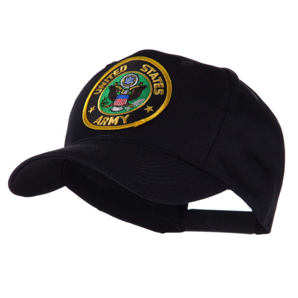 Army Circular Shape Embroidered Military Patch Cap - Army - Hats and Caps Online Shop - Hip Head Gear