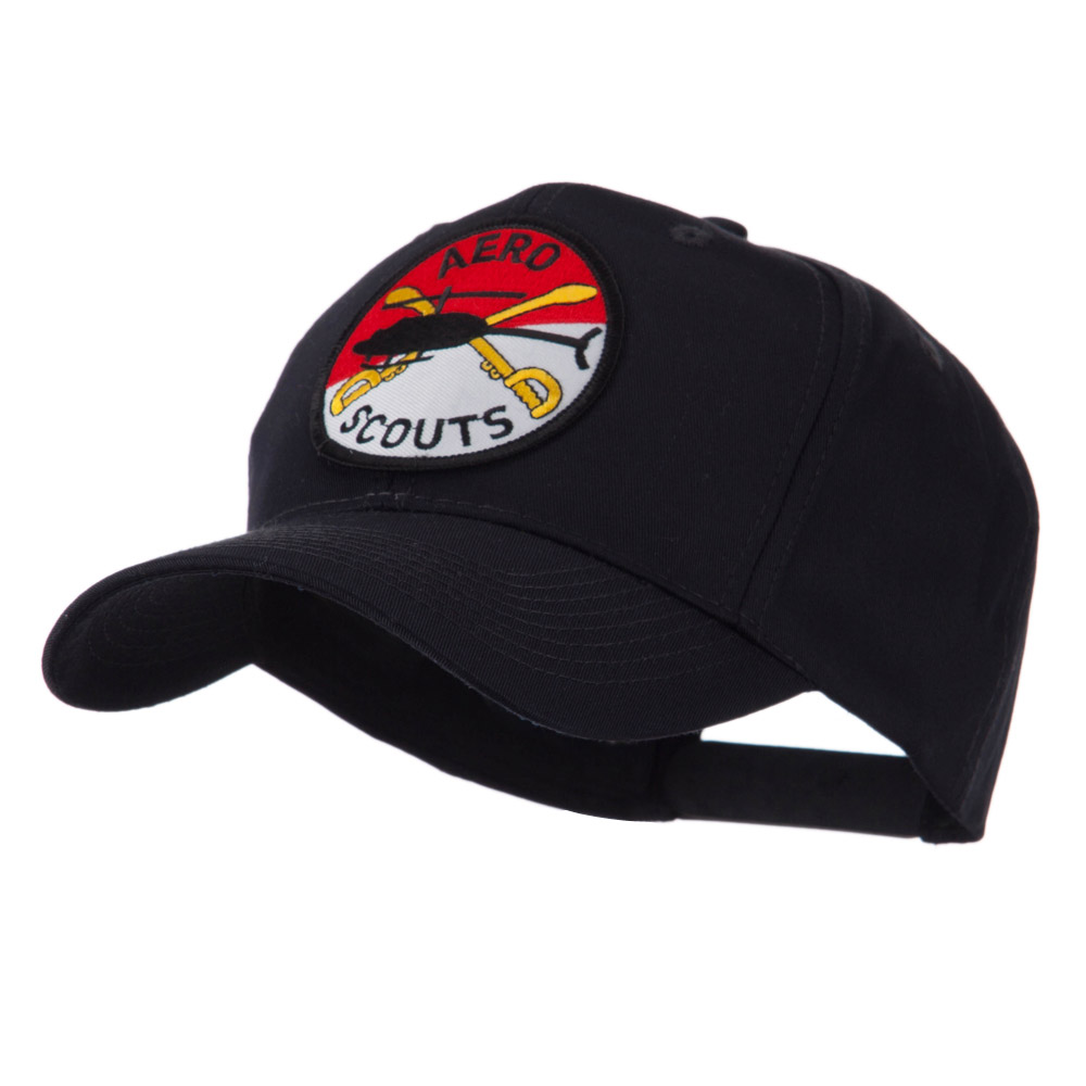 Army Circular Shape Embroidered Military Patch Cap - Aero - Hats and Caps Online Shop - Hip Head Gear