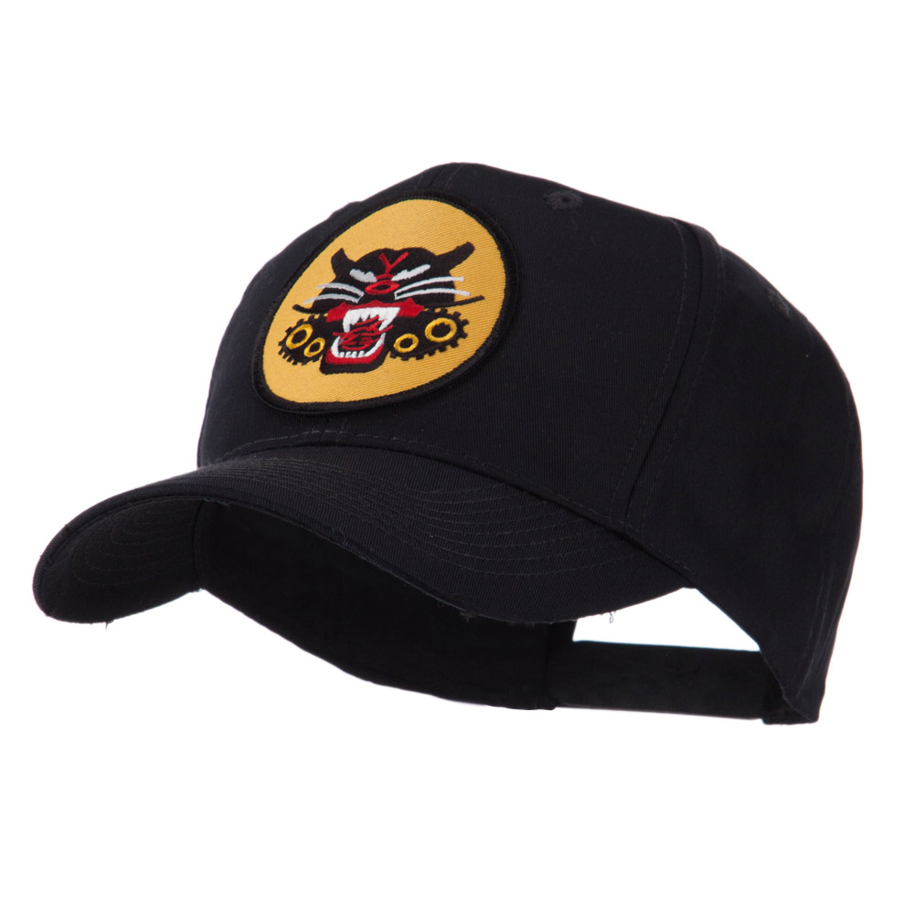 Army Circular Shape Embroidered Military Patch Cap - Tank - Hats and Caps Online Shop - Hip Head Gear