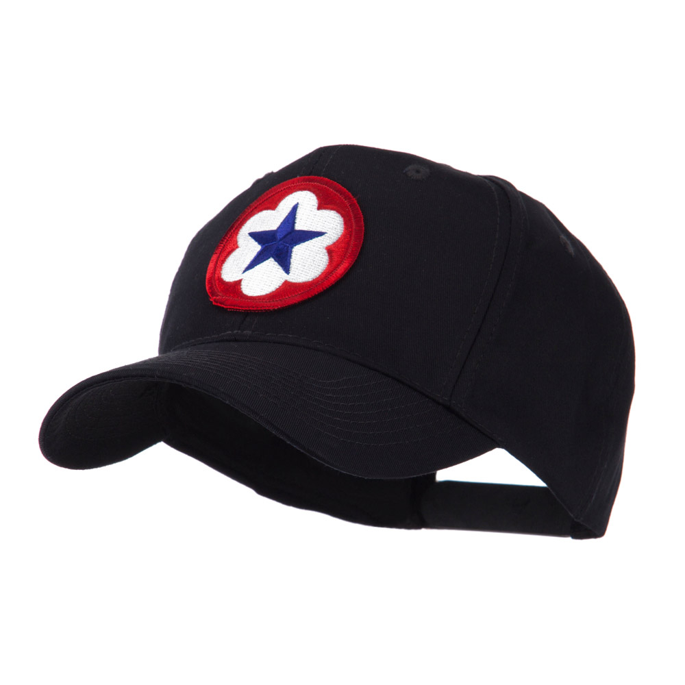Army Circular Shape Embroidered Military Patch Cap - 9th - Hats and Caps Online Shop - Hip Head Gear