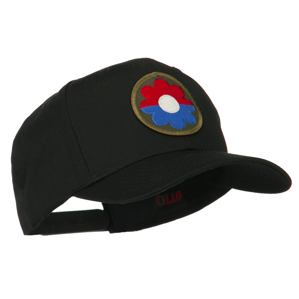Army Circular Shape Embroidered Military Patch Cap - 9th Inf - Hats and Caps Online Shop - Hip Head Gear