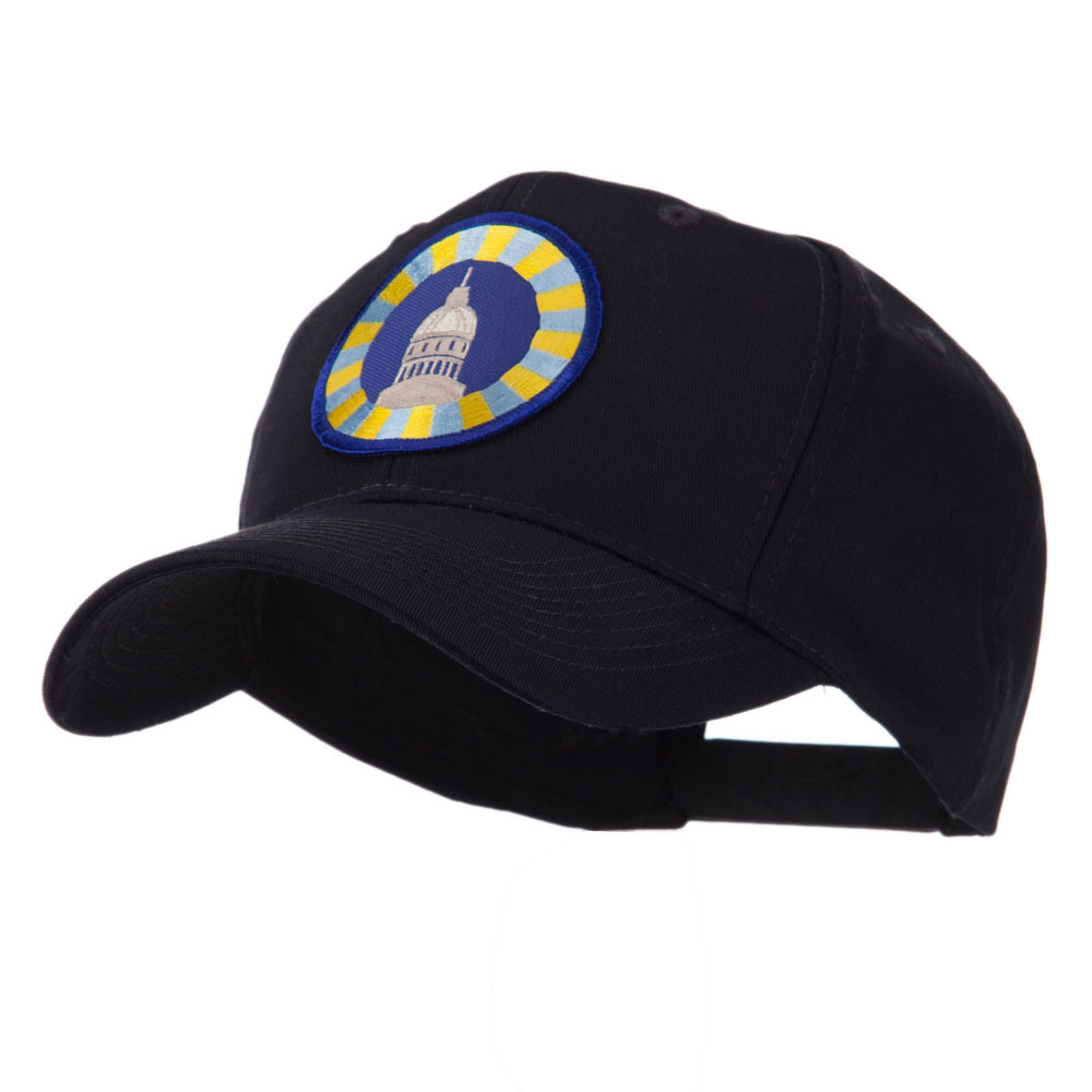 Army Circular Shape Embroidered Military Patch Cap - USAA - Hats and Caps Online Shop - Hip Head Gear