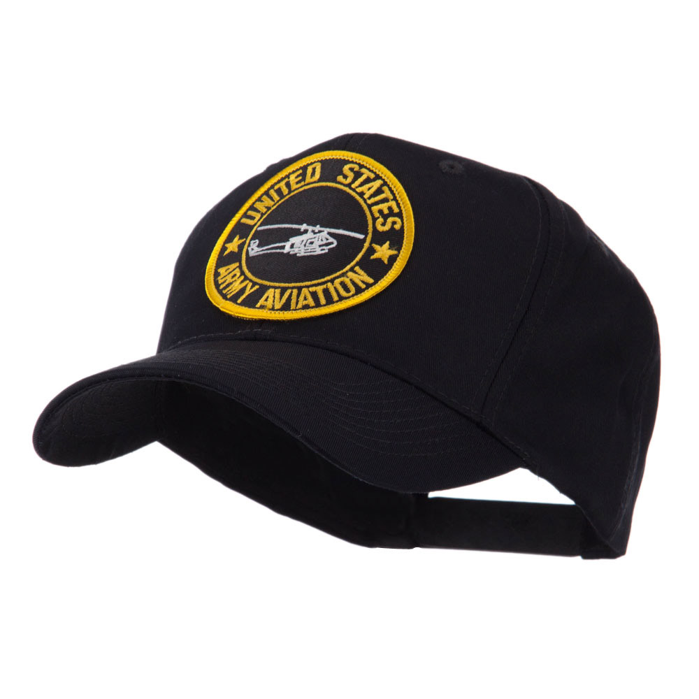 Army Circular Shape Embroidered Military Patch Cap - Aviation - Hats and Caps Online Shop - Hip Head Gear