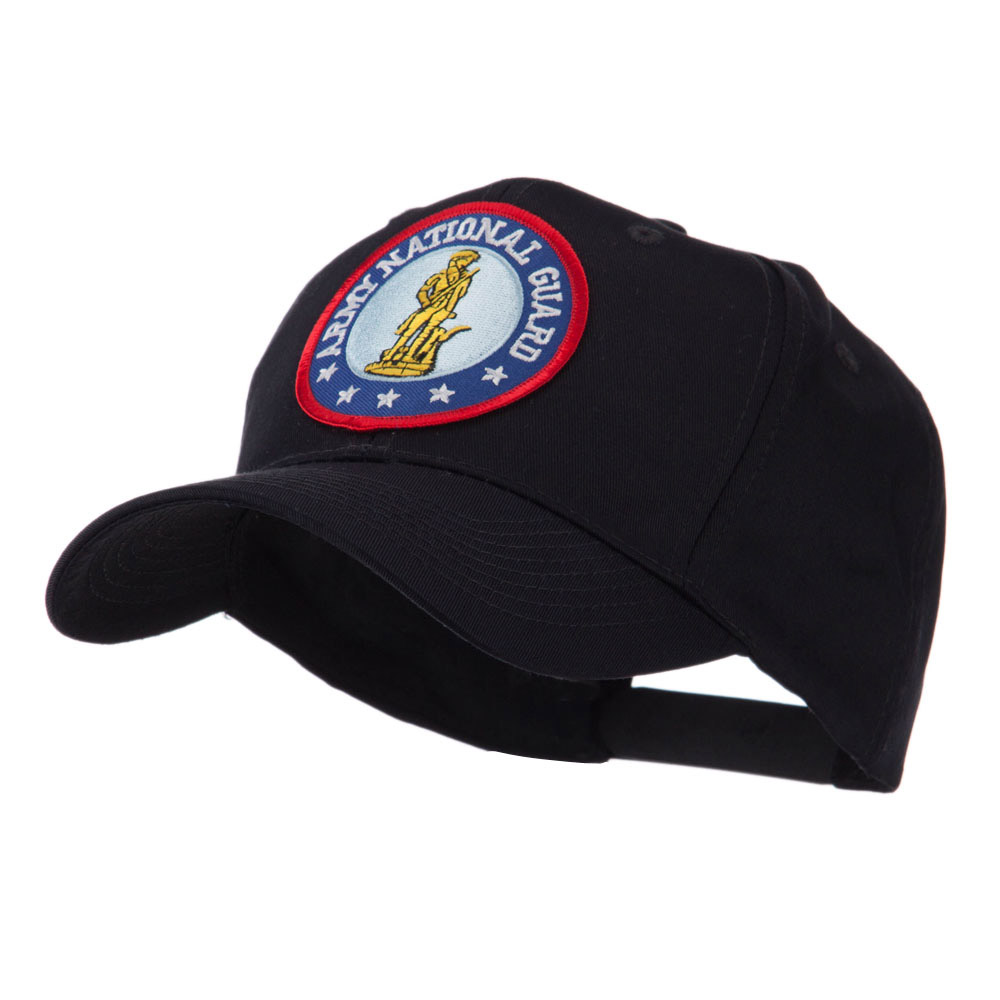 Army Circular Shape Embroidered Military Patch Cap - Guard - Hats and Caps Online Shop - Hip Head Gear