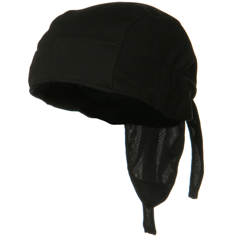Coolmax and Reg Headwrap - Black - Hats and Caps Online Shop - Hip Head Gear